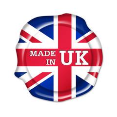 made in uk button, siegel, stempel,