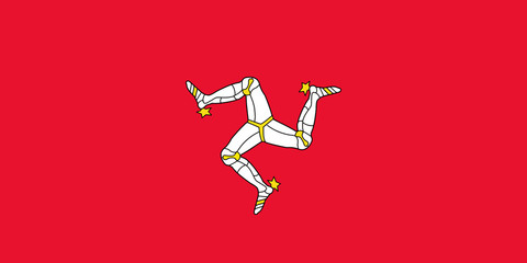 Wall Mural - Isle of Man Flag