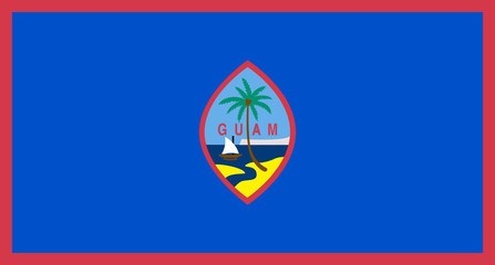 Wall Mural - Guam Flag