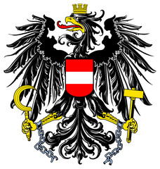 Wall Mural - Austria Coat or Arms