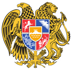 Fototapete - Armenia Coat of Arms