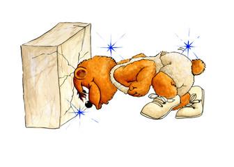 Stubborn Bear