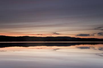 Beautiful lake view in Sweden