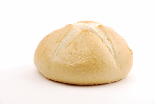 Round sourdough bread