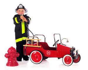 Fireman Hosing