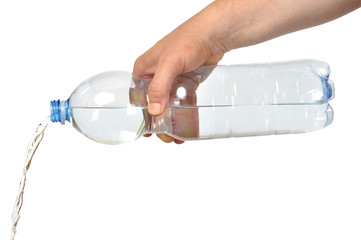 Hand with Bottle