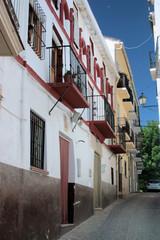 Calle del casco antiguo de Alhama de Granada