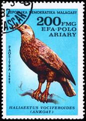 MALAGASY REPUBLIC - CIRCA 1982 Eagle