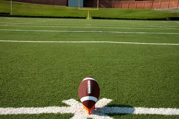 Wall Mural - American Football Kickoff