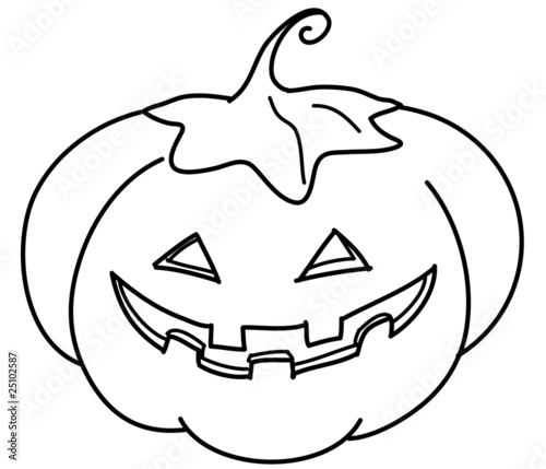 Zucca Di Halloween Da Colorare Stock Photo And Royalty Free Images