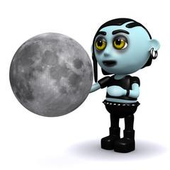 3d Lunar gothic