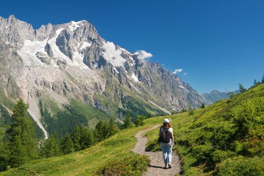 escursione - hiking in Ferret Valley