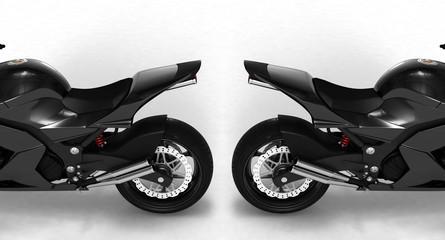concept moto back view