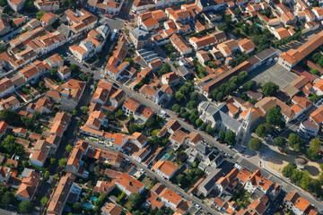 vue aérienne de Fouras, Charente-Maritime (17)