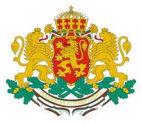 Fototapete - Bulgaria Coat of Arms