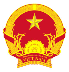 Fototapete - Vietnam Coat of Arms