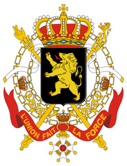 Fototapete - Belgium Coat of Arms