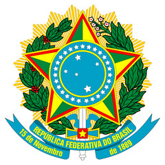 Wall Mural - Brazil Coat of Arms