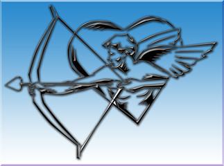 Cupido cuore amore