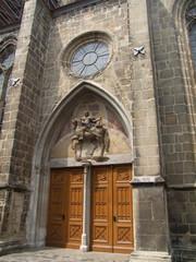 Eingang Martinikirche