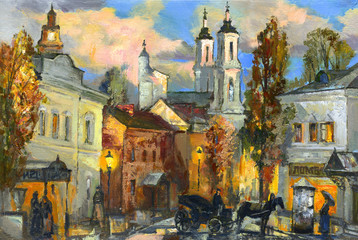 The old city of Vitebsk