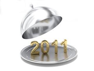 Il nuovo anno in un piatto d'argento