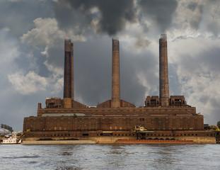 Riverside Polluting Powerplant