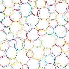 Seamless Pattern Circles