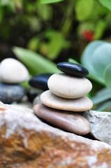 Gleichgewicht, Garten