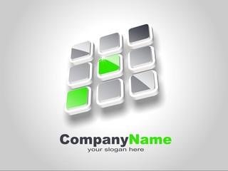 Green Ecological Logo