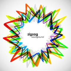 zigzag background, eps10