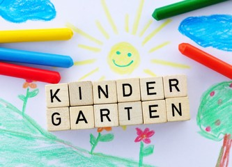 Kind im Kindergarten
