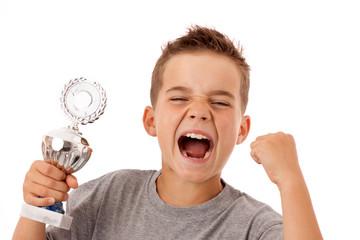 Sieger-Typ - Ergeiziger jugendlicher Sportler