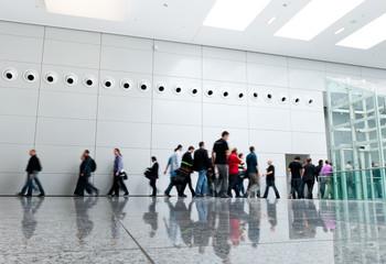 Futuristic Walkway Hall