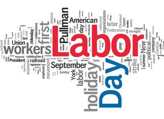 USA Labor Day - 6 September