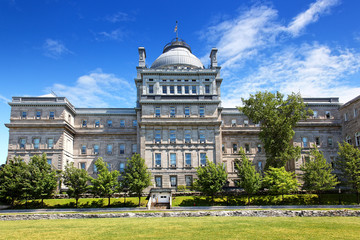 Der alte Palast des Gerichtshofs in Montreal, Kanada