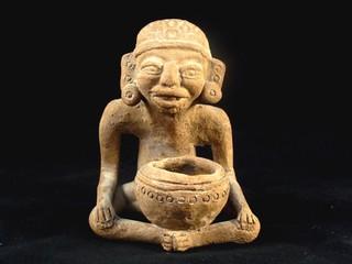 A Maya Shaman Statue