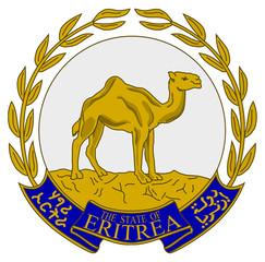 Fototapete - Eritrea Coat of Arms