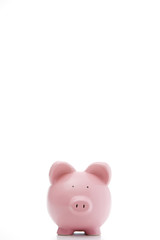 Front View Of Piggy Bank