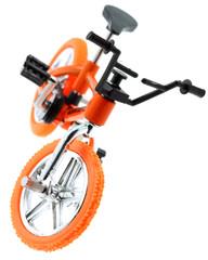 mini vélo bike vtt cross, fond blanc