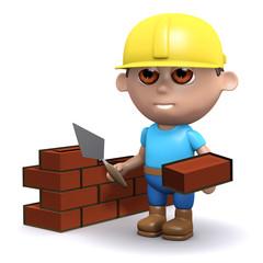 3d Builder lays some bricks