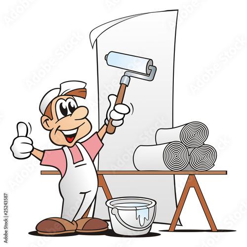 Maler und lackierer clipart  Beruf Maler