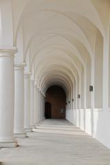 Historic portico Dresden