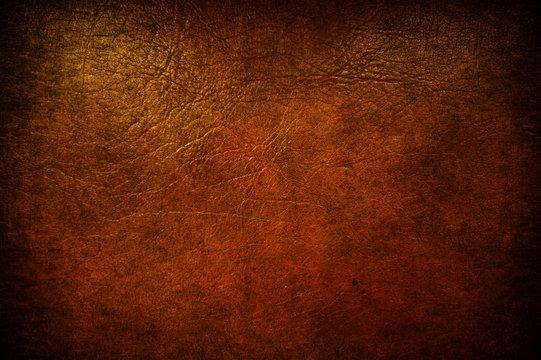 Grunge leather