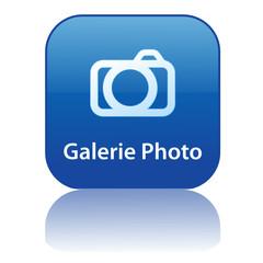 Bouton Web GALERIE PHOTO (diaporama partager photos en ligne)