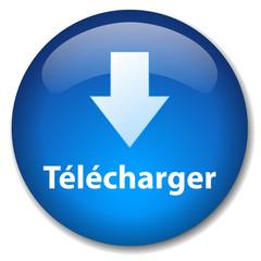 Bouton Web TELECHARGER (site internet téléchargement gratuit)