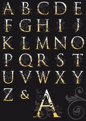 abecedario decorado