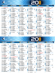 Calendrier 2011 technologique