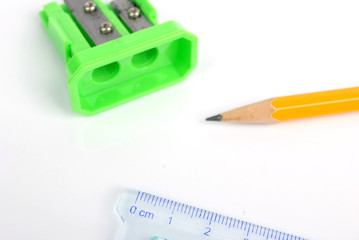 pencil&ruler with sharpener