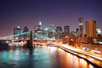 Wall Mural - New York City Manhattan skyline